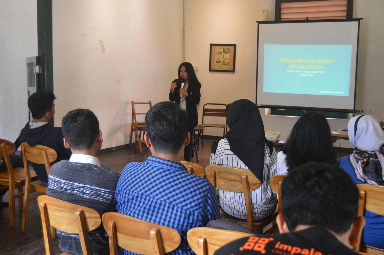 AIESEC Undip Selenggarakan Ruang Muda Volume Tujuh