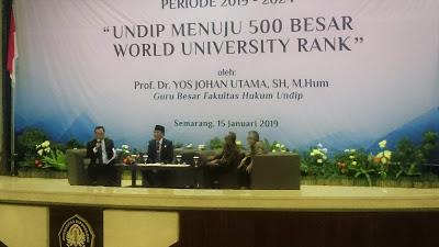 Undip Menuju 500 Besar World University Rank