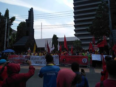 May Day 2019: Geram Tuntut Kesejahteraan Untuk Buruh