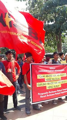 Tolak Usulan Revisi UU Ketenagakerjaan, Kasbi: Buruh Diajak Sengsara