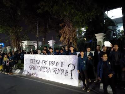Mahasiswa Undip Tolak Pelemahan KPK