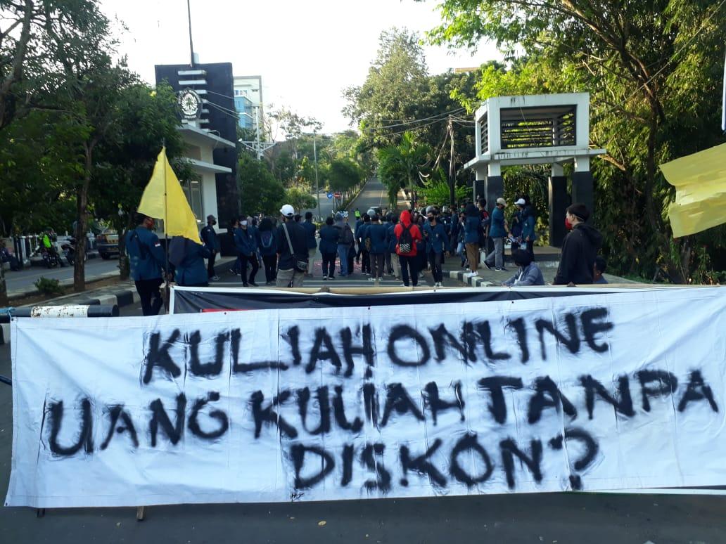 Undip Kembali Tolak Aksi Protes Mahasiswa