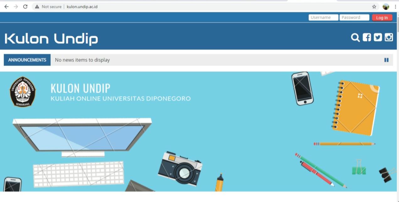 Undip Berlakukan Dua Sistem Media Pembelajaran Secara Daring 'Ms Team dan Kulon'
