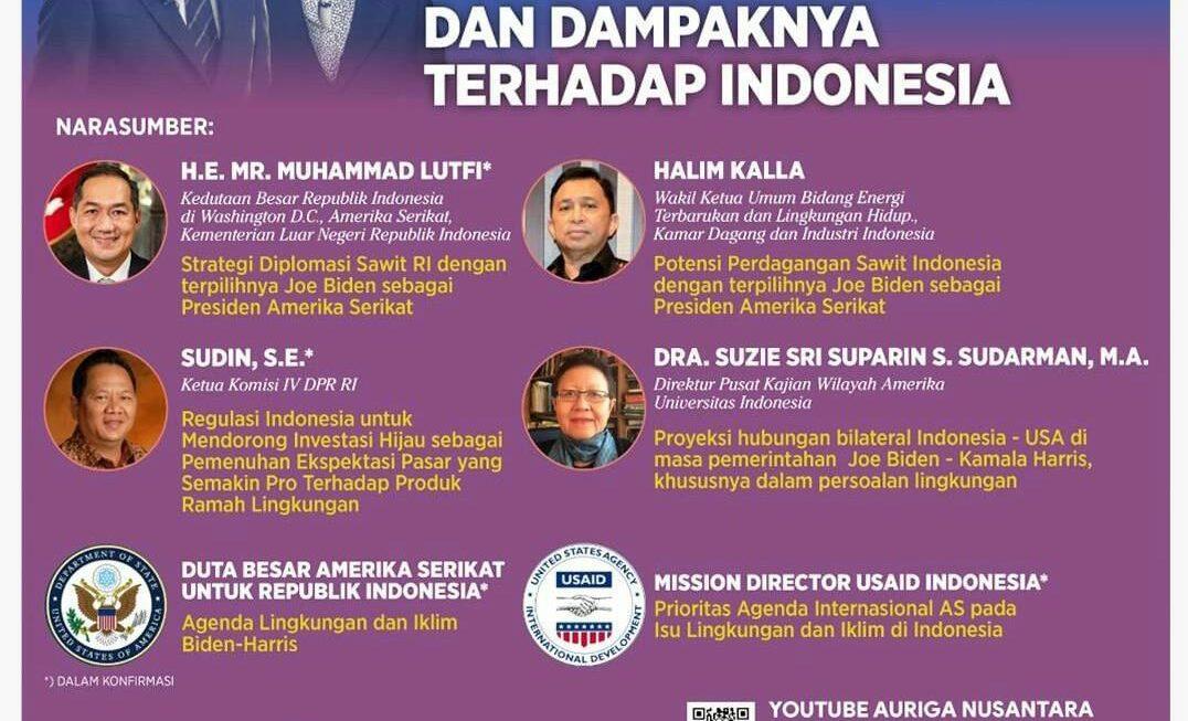 Membaca Peluang Isu Perubahan Iklim dari Kebijakan Biden-Harris bagi Indonesia