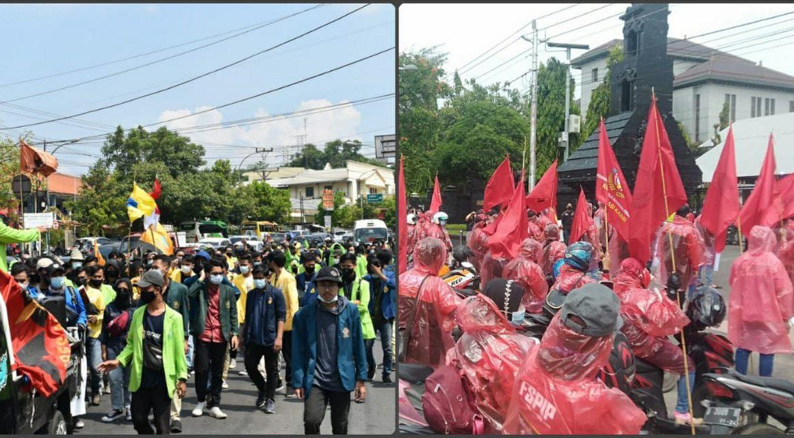 Demo May Day Semarang Pecah di Dua Titik Lokasi, KASBI: Ingin Ada Perbedaan