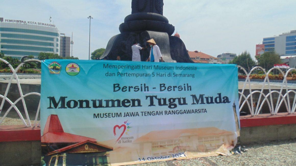 Museum Jawa Tengah Adakan Konservasi Monumen Tugu Muda Semarang